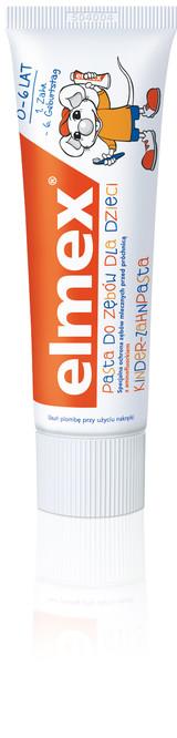 ELMEX pasta do zębów dla dzieci (źródło: www.gaba-dent.pl)