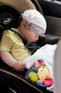 Klimatyzacja w samochodzie sprzyja też dzieciom