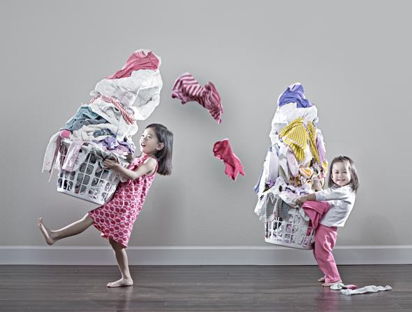 Do prania ubrań dla dzieci należy używać odpowiednich proszków