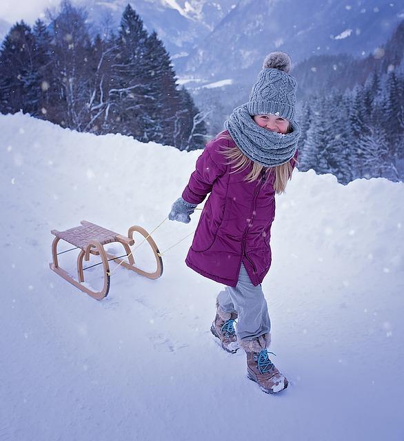 Jest zima? Trzeba wyjść na spacer!