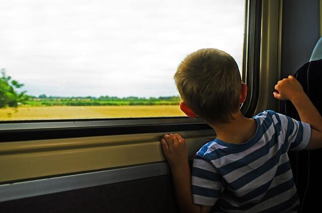 Dziecko w podróży może czuć się źle