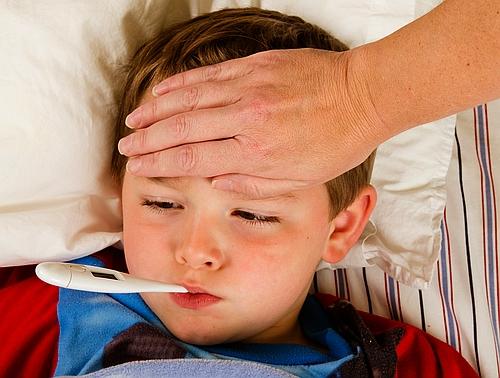 Chore dziecko wymaga wyjątkowej opieki