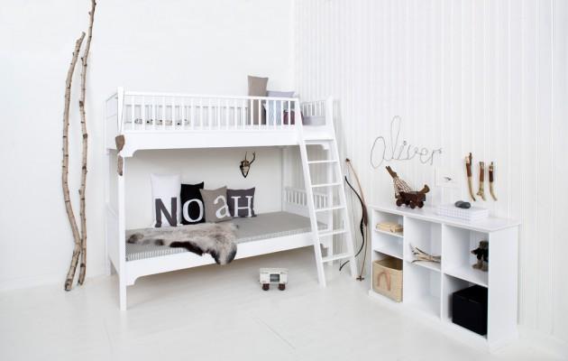Biały i szary - najmodniejsze kolory także do pokoju dziecka